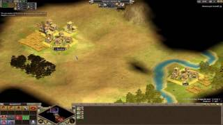 Rise of Nations: Thrones and Patriots (ED) 1v1 Toughest AI RUSH [HD]