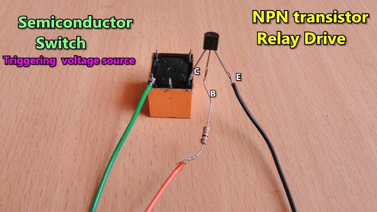 Wiring Transistor As Switch