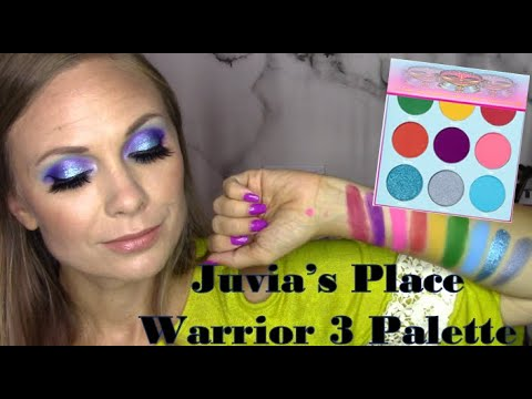 Juvia's Place Warrior 3 Palette Swatches, Tutorial, and First Impressions thumbnail