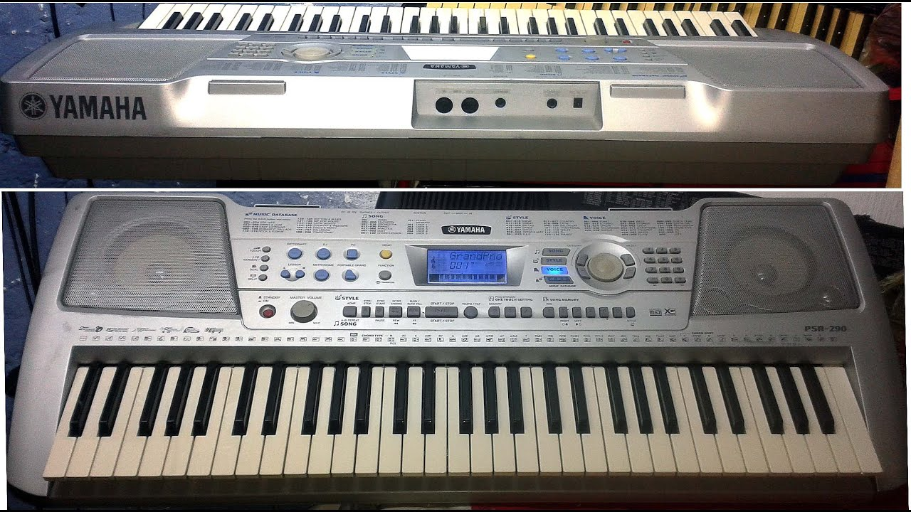yamaha psr 290 youtube