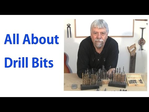 All About Wood Drill Bits: Woodworking for Beginners #6 - woodworkweb
