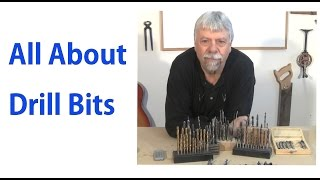 All About Wood Drill Bits - Beginners 6 - a woodworkweb.com Video