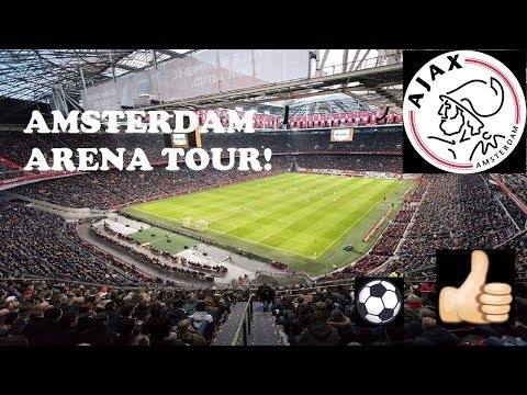 Amsterdam ArenA Stadium Tour (Ajax Home Soccer - Travel Video)Johan Cruyff