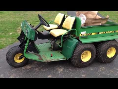 john deere gator amt 622 for sale youtube John Deere 820