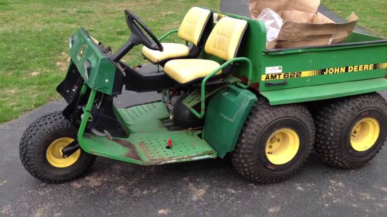 John Deere Gator AMT 622 For Sale  YouTube