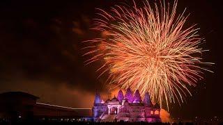 Happy Diwali Festival 2017 Super Firework | Baps Shri Swaminarayan Mandir Toronto