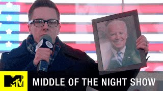 Middle of the Night Show  | 'Joe Biden Dummy Hunt' Official Sneak Peek (Episode 8) | MTV