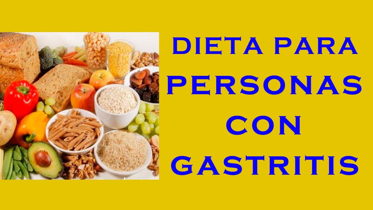 Dietas para personas con gastritis – Dietas de nutricion y ...
