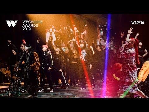WECHOICE AWARDS 2019 | HIPHOP TRIBUTE - LK, Phúc Bồ, Kimmese, Mr.A, Mr.T, Phúc Du