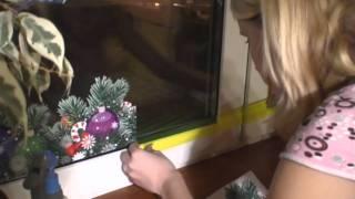 Новогодние наклейки на окна My-Deco.ru