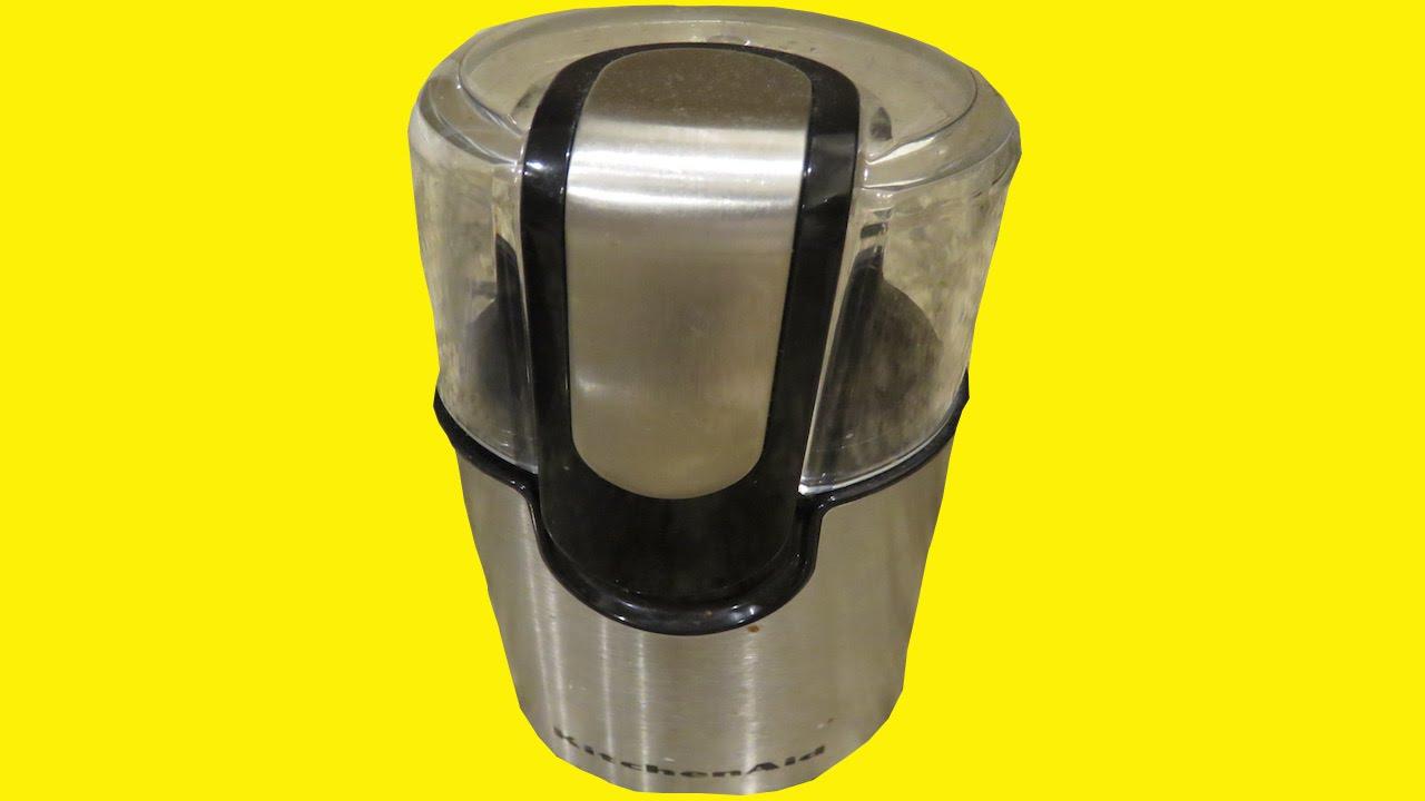 Kitchenaid Coffee Maker Kcm1202ob Reviews : Kitchen Aid Coffee Grinder Review - Worlds best coffee grinder? - YouTube