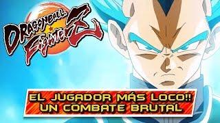 EL JUGADOR MÁS LOCO QUE VERÉIS NUNCA!! EL CLASH LEGENDARIO!! Dragon Ball FighterZ: Online