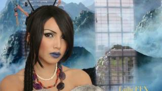 Final Fantasy 'LuLu' Make-up Transformation !!!!