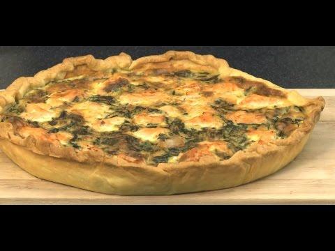 recette-de-quiche-saumon,-épinards,-ricotta-pour-toute-la-famille