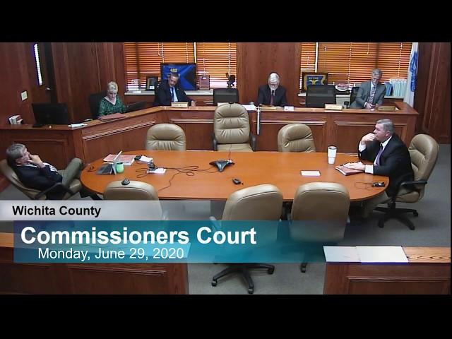 Commissioners Court 06/29/2020 part 2