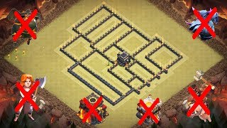 BEST TH9 WAR BASE 2018 (NEW) | Defense against TH10, TH11 w/PROOF | ANTI 3 STAR | clash of clans