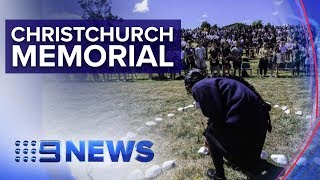 NZ remembrance service pays tribute to victims of Christchurch mosque attack | Nine News Australia