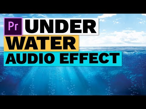 How to Make an Underwater Muffled Audio Sound Effect - YouTube