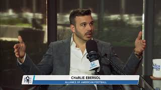 AAF Founder Charlie Ebersol on Eliminating Kickoffs in Football | The Rich Eisen Show | 5/8/18