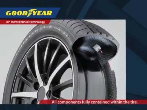 Goodyear Dunlop self-inflated tire