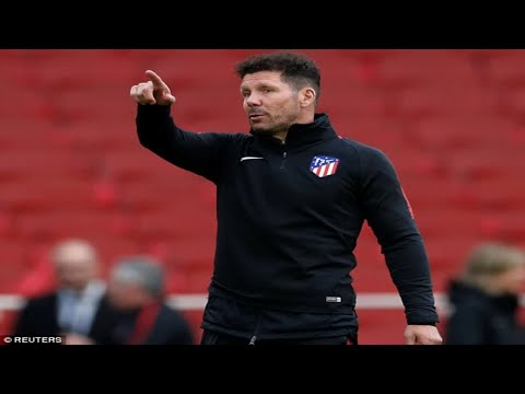 Atletico Madrid boss Diego Simeone is facing Arsene Wenger as one of the top managers in the