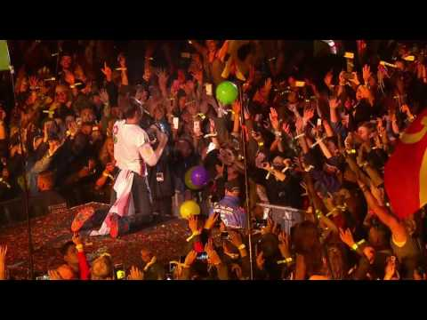 Coldplay Fix You Live at Glastonbury 2016