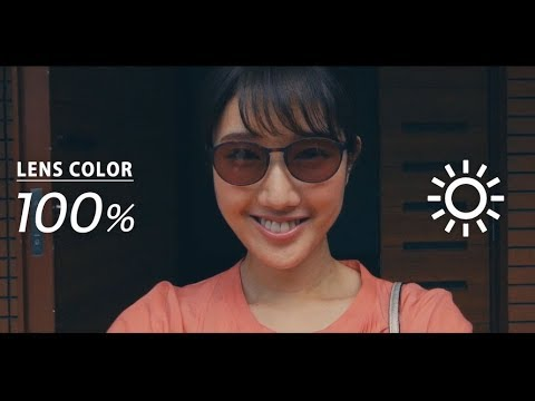 華子、スタイリッシュなメガネ姿披露 メガネレンズ『ニコン トランジションズ』プロモーション動画