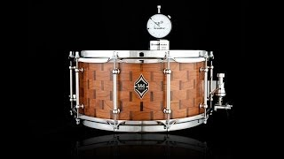 Amazing Custom Snare Drum! DrumDial Snare Drum Tuning.