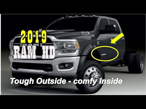 AMAZING..!! 2019 Ram HD Chassis Cab trucks : tough on the outside, comfy on the inside