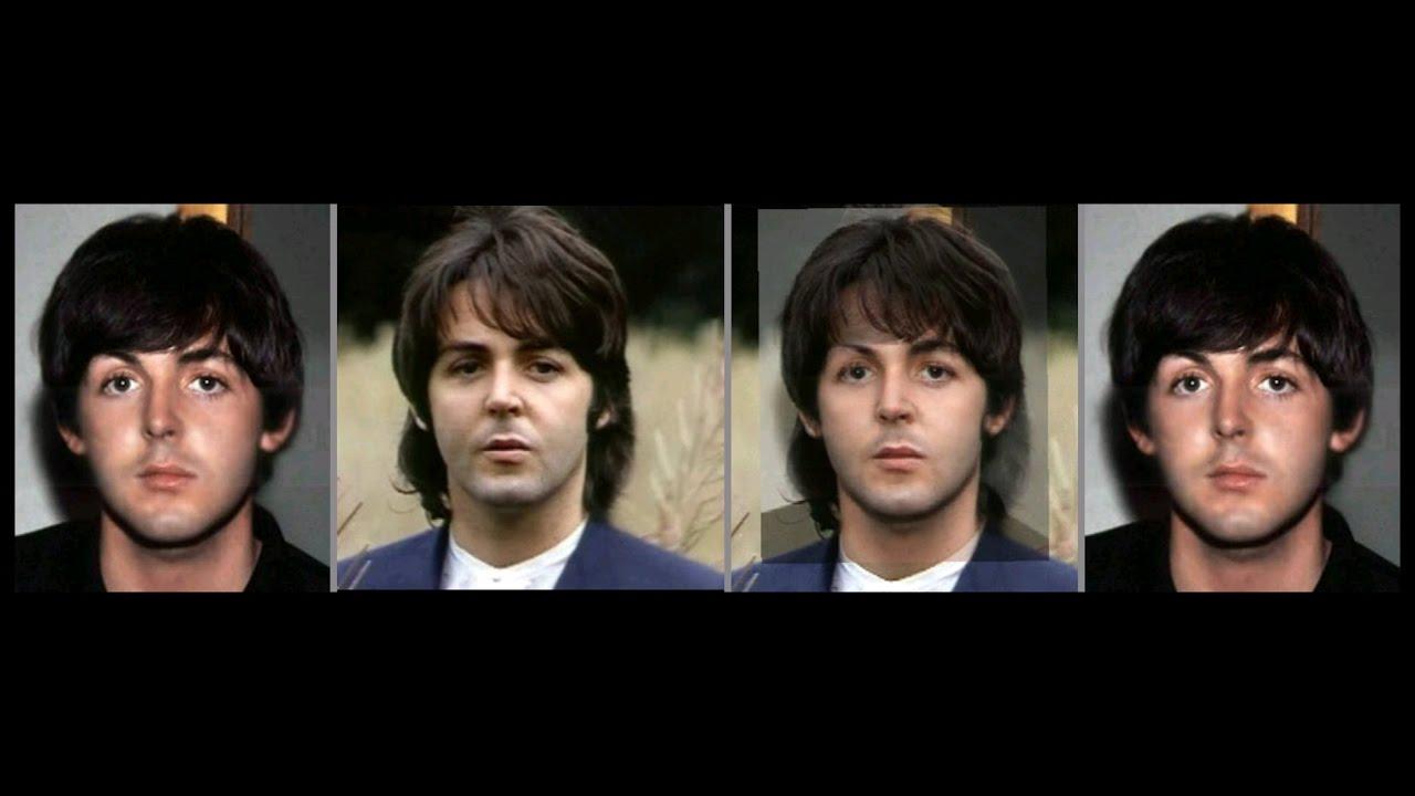 Paul McCartney Photo Comparison 1965