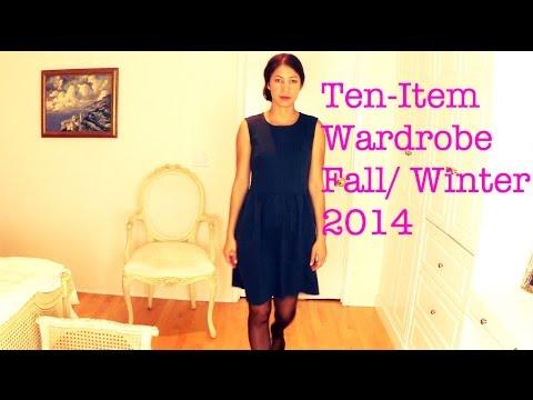 Ten Item Wardrobe Fall Winter 2014