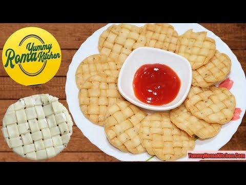 ऐसा नास्ता जो हर किसी को दीवाना बना दे। Namakpare। Mathari।namakpara recipe