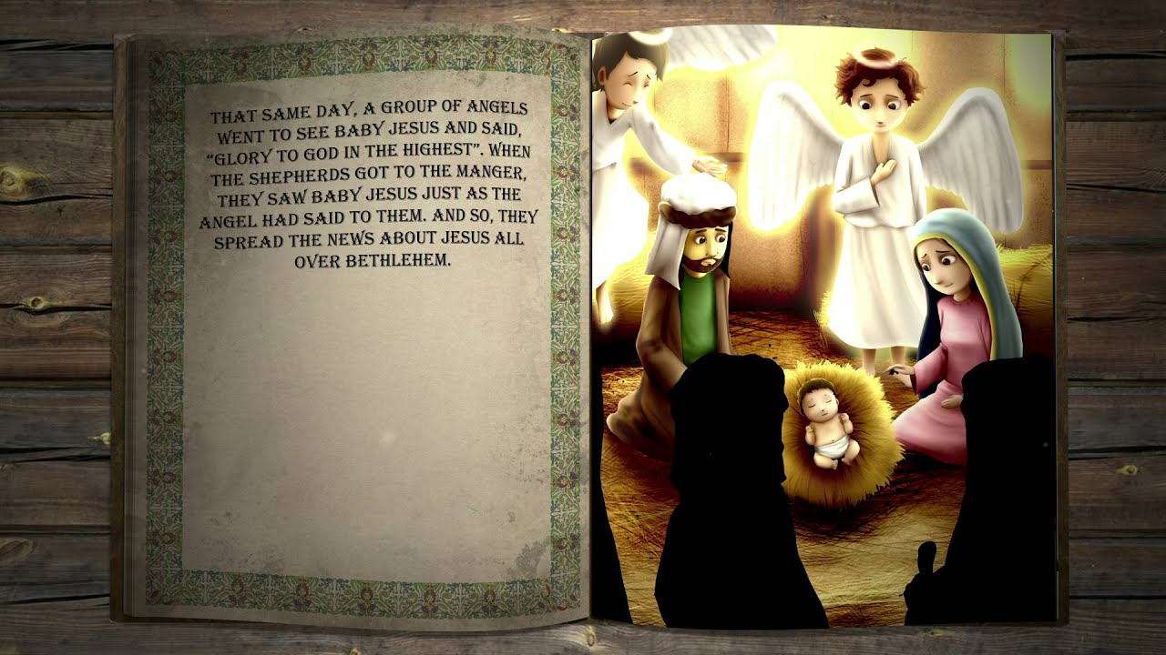 Bible Nativity Story For Kids - The Birth of Jesus Christ ...
