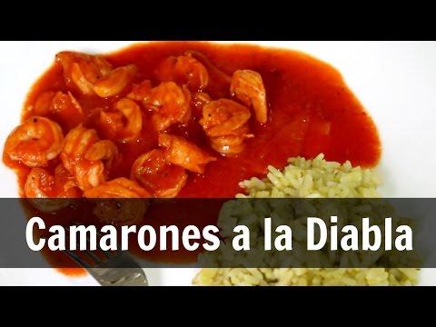 CAMARONES A LA DIABLA | RECETA EQUILIBRADA