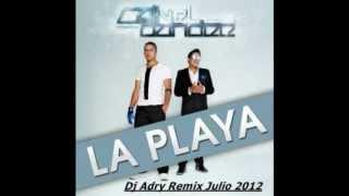 Cali & El Dandee - La Playa (Dj Adry Remix Julio 2012)