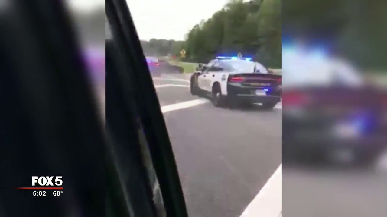 Video: Two arrested in Forsyth County high-speed chase