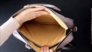 Обзор женского портфеля Coccinelle