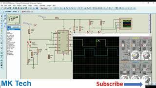 TL494 PWM Generator Circuit
