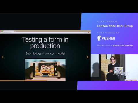 Internal Server Error Horror Stories about APIs and the Browser - Claudia Matosa - LNUG March 18