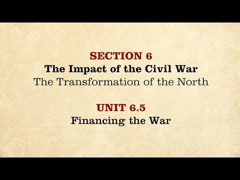 MOOC | Financing the War | The Civil War and Reconstruction, 1861-1865 | 2.6.5