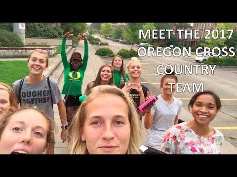 Meet the 2017 University of Oregon XC Team