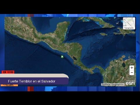 Generación News: EN VIVO Cero Amenaza de Tsunami en Nicaragua, El Salvador y Honduras