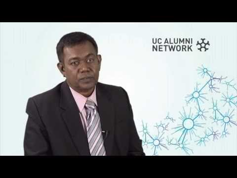 UC scholarship opened doors and provided opportunities - Ibrahim Ismail, 2013 Distinguished Alumnus
