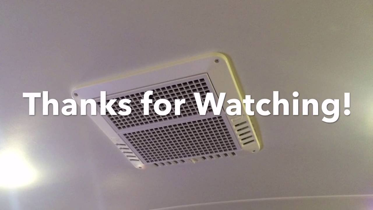 Install A ColemanMach ChillGrille RV Ceiling Kit  YouTube