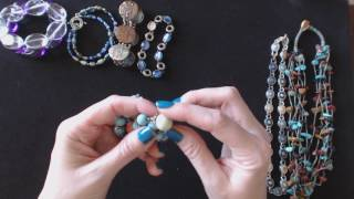 ASMR Whisper & Gum Chewing ~ Thrift Store Jewelry Haul Show & Tell ~ Southern Accent