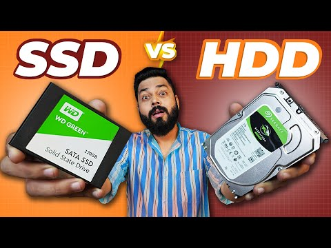 HDD vs SSD - Hard Disk Drive vs Solid State Drive Explained ⚡ Speed, Price, Capacity & More