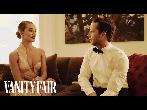 Rosie HuntingtonWhiteley Tells Us About the Time She AirKissed Beyoncé
