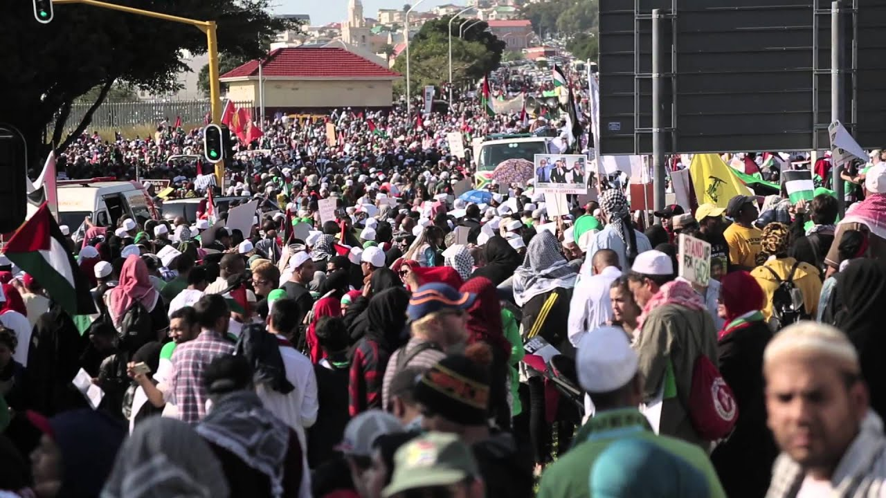 Cape Town for Palestine Protest