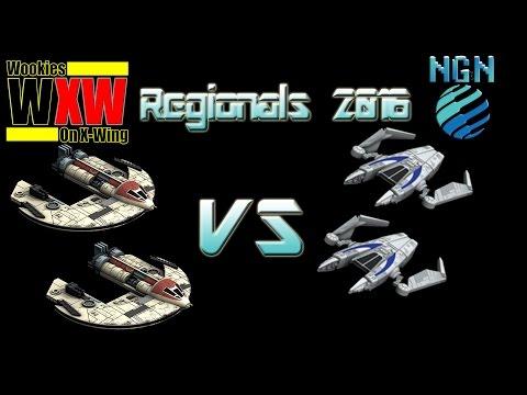 Star Wars X-Wing Miniatures   Maritime Regionals - Game 3: Brobots vs Dengaroo