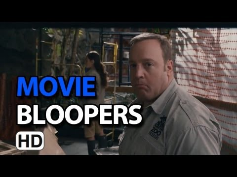 Zookeeper 2011 Bloopers Outtakes Gag Reel  Kevin James & Rosario Dawson